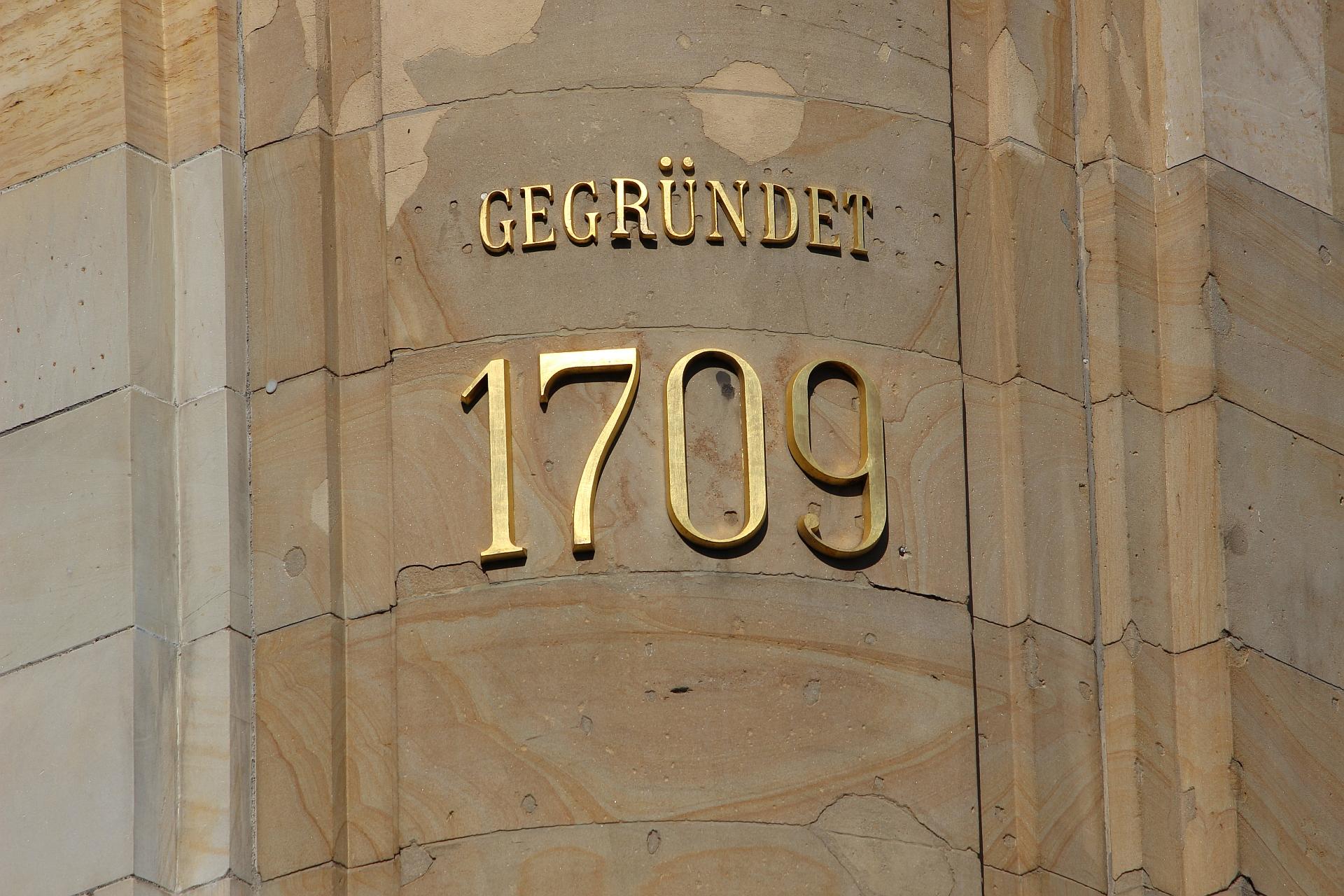 Gegründet 1709