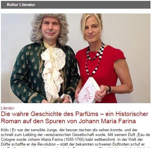 Die wahre Geschichte des Parfüms - Historischer Roman auf den Spuren von Johann Maria Farina