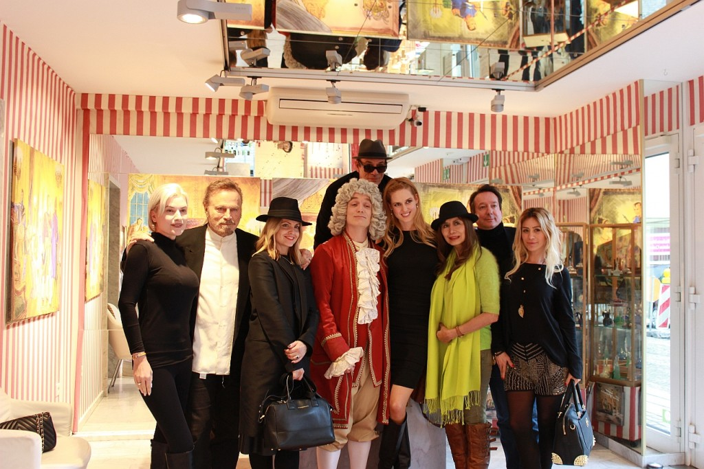 Lambertz Monday Night Gäste im Duftmuseum im Farina-Haus