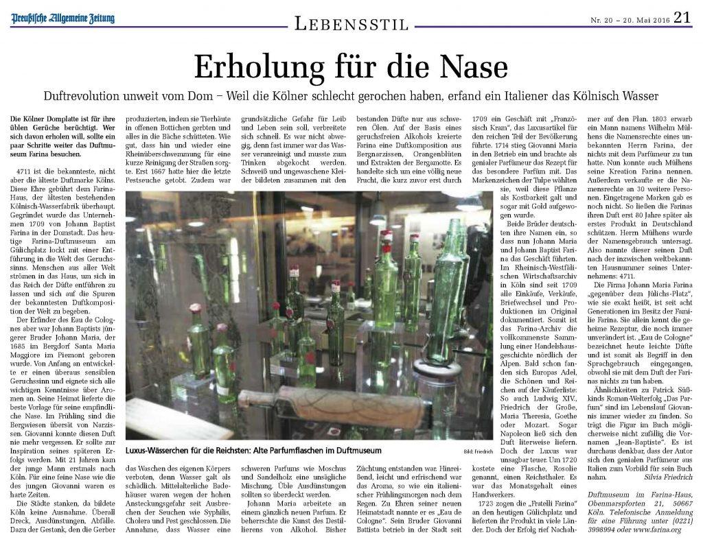 2016-05-20-Preußische-Allgemeine-Zeitung-Erholung-fuer-die-Nase