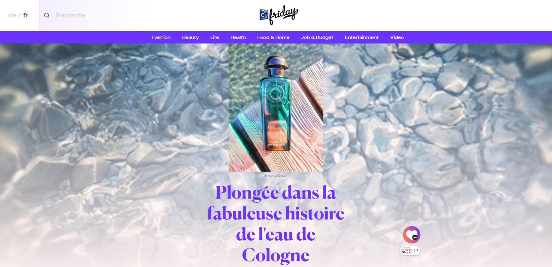 Fragrance Museum | News